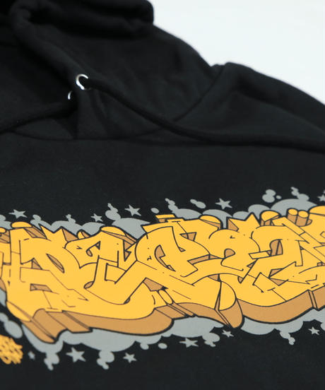 ITALY BLAZZ by Kreso World Wide COLLAB 00 SUPERHEAVY HOODIE [BLACK]