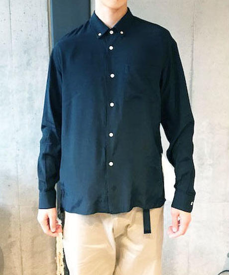 ELVIS BD COLLAR SHIRTS -BLACK-
