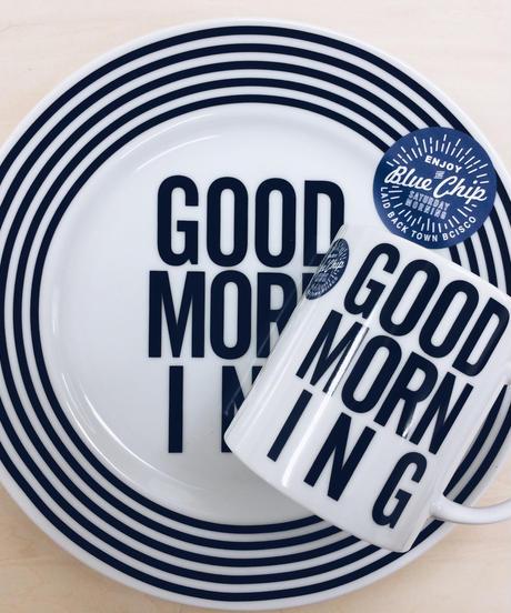 GOOD MORNING PLATE 123mm