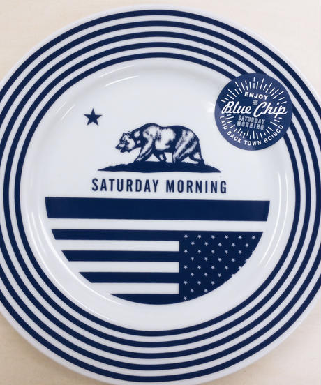 SATURDAY  MORNING PLATE 123mm