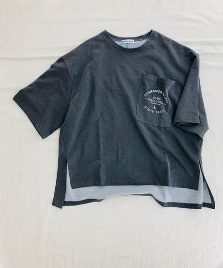 ●インスタLIVE● 胸ポケLOGO-Tシャツ