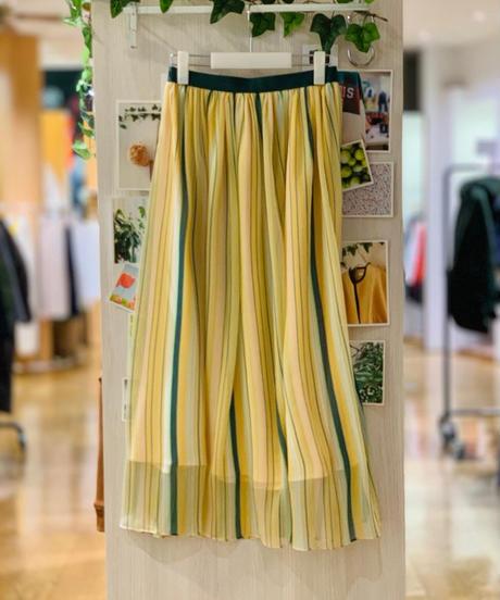 【ご予約】シアーストライプスカート