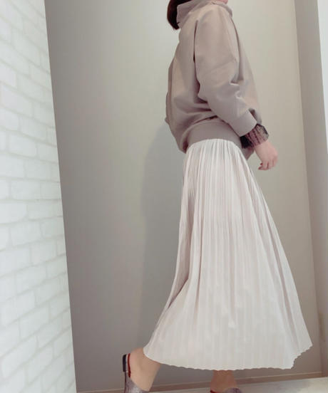 ●インスタLive ●ツイルサテン・シャーリングスカート
