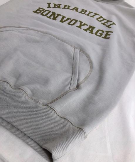 フロッキーロゴプリント毎日でも着たいパーカー190122