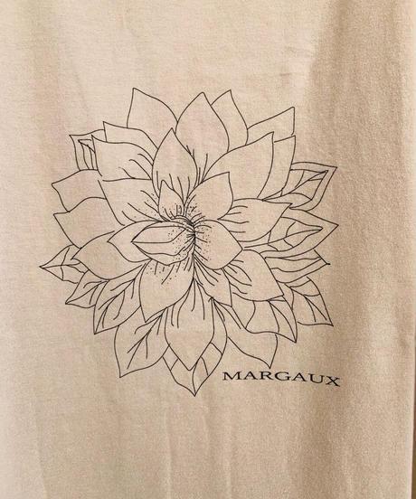 【MARGAUX'21初夏ご予約】ロゴ&イラストTee ダリア