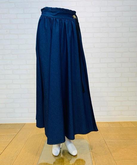 ●インスタLive● ラップdenimスカート