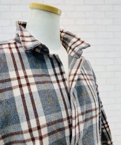 スキッパーネルシャツ