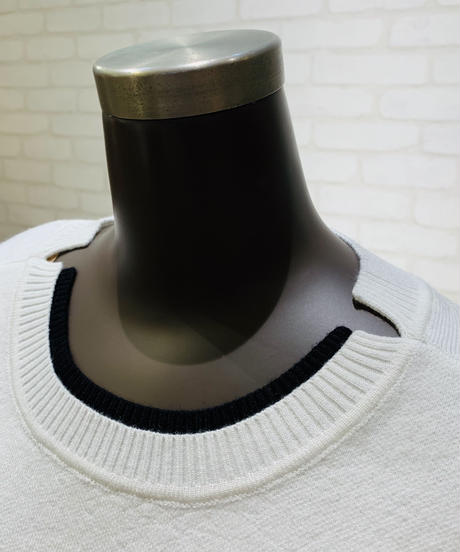 インターシャ ロゴニット/181122