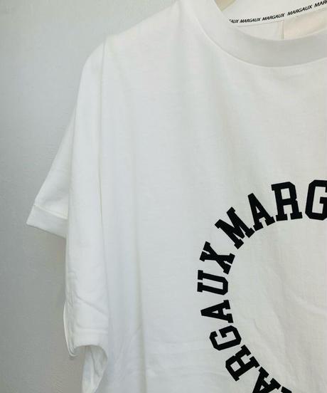 【MARGAUX'21初夏ご予約】ロゴ&イラストTee サークルLOGO