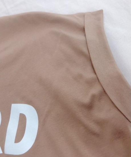 【再・再入荷】バンド・フレンチスリーブ ロゴTシャツ