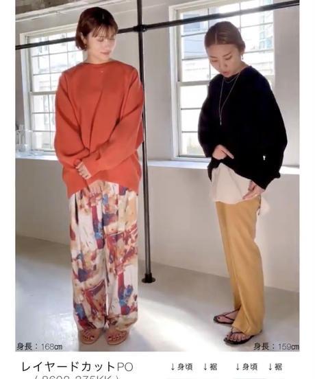 【CHIGNON晩夏初秋ご予約限定】レイヤードカットプルオーバー