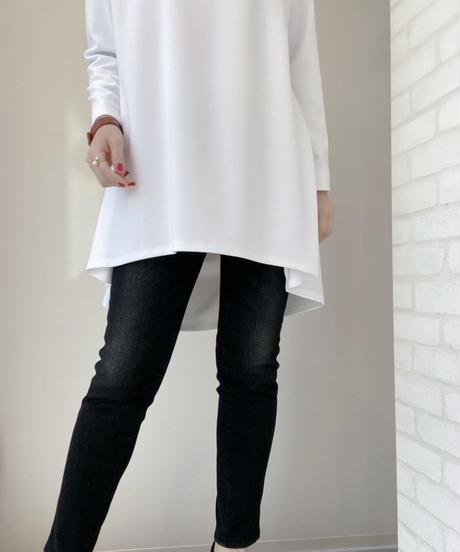 バックテイル longTシャツ