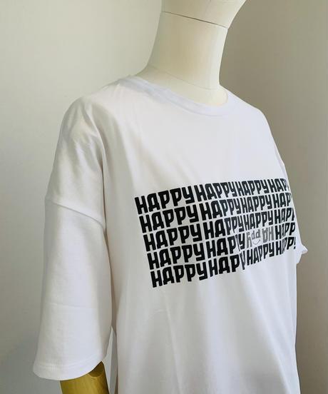 HAPPYロゴTee
