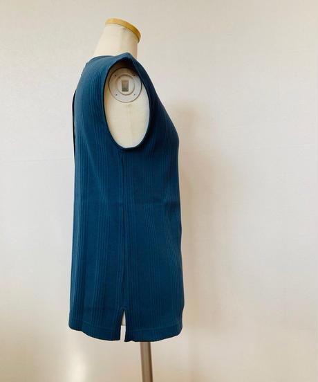 ●インスタLive● ランダムリブ・後ろファスナー・フレンチ袖