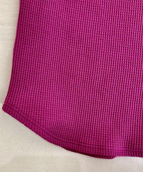軽量サーマル5分袖カットソー