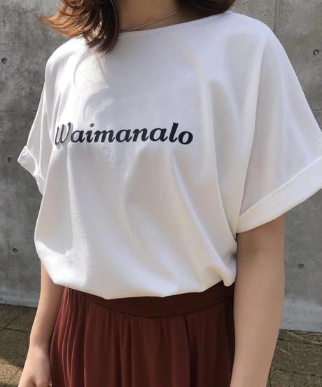 WaimanaloエンボスLOGOTシャツ