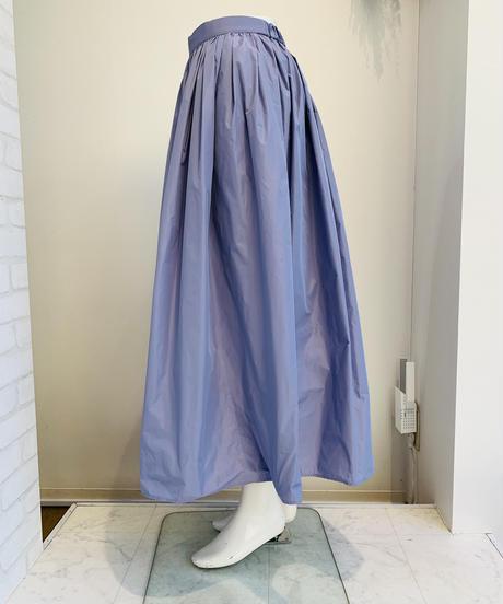 ★特別価格★マキシ丈タフタタックskirt