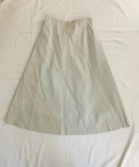 エコレザーAラインスカート (セットアップ)
