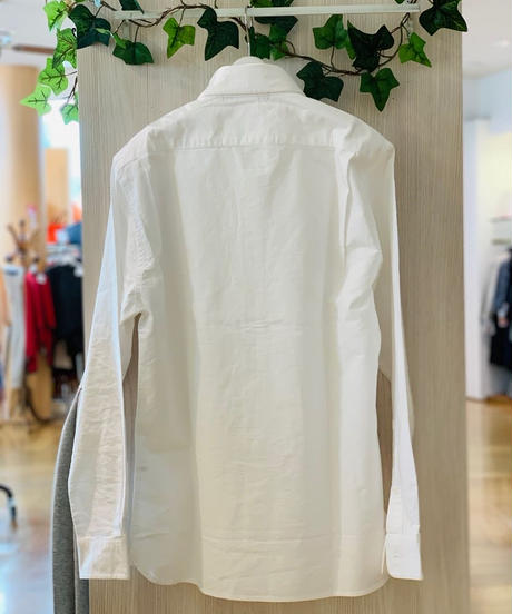 men's ボタンダウンシャツ (ホワイト)