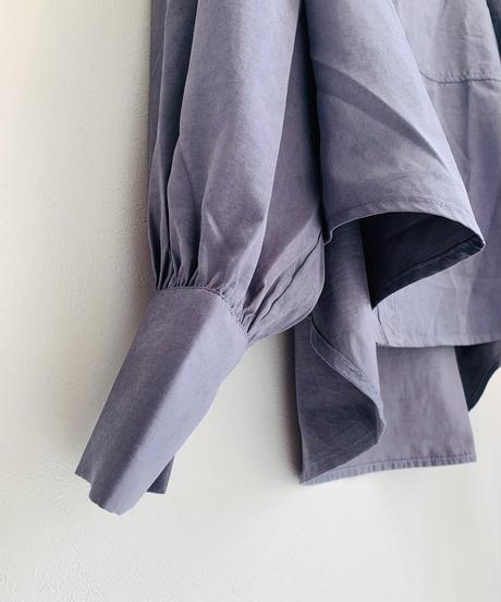 ピーチスキン羽織ブラウス