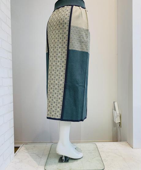 ジャカードニットスカート