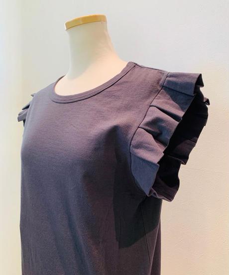 プリーツ袖(きんぎょ袖)フレンチTシャツ