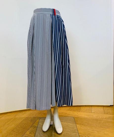 マルチストライプ・切り替えスカート