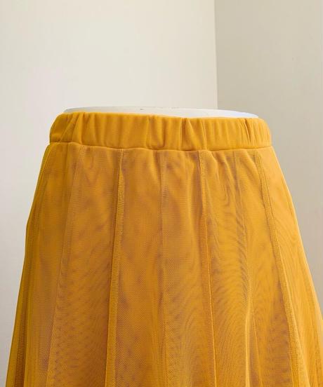 10枚接ぎ(内側20枚)二重チュールスカート カラー無地