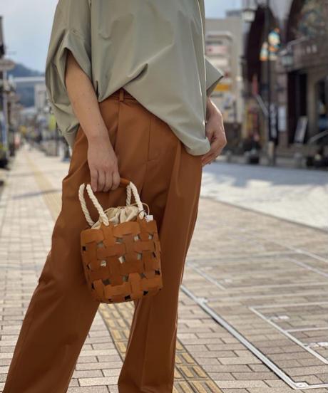 太編みカゴ風 BAG