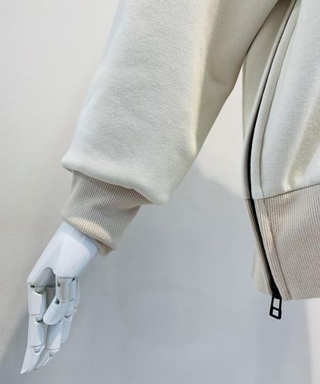 爆暖スタンド襟サイドファスナープルオーバー