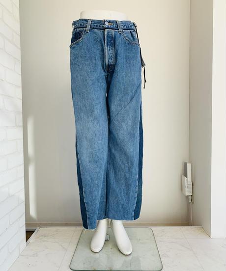 【受注生産】GARBAGE RemakeDENIM Wide Pants