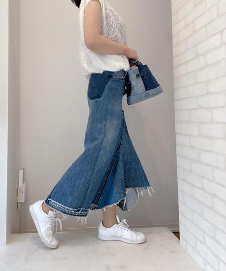 【受注生産】GARBAGE RemakeDENIM Denim Skirt