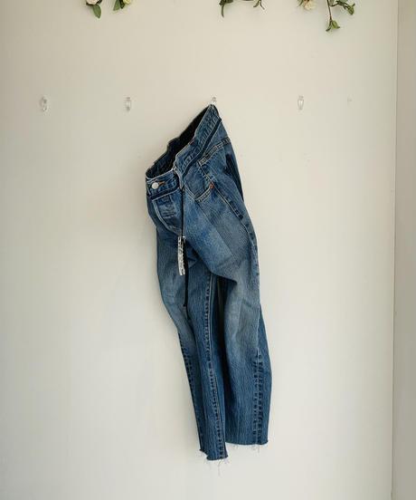 【受注生産】GARBAGE RemakeDENIM Mom Fit Pants