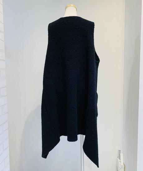 【Kittle & PAREATSU'21秋冬ご予約】ウールパイルロングジレ