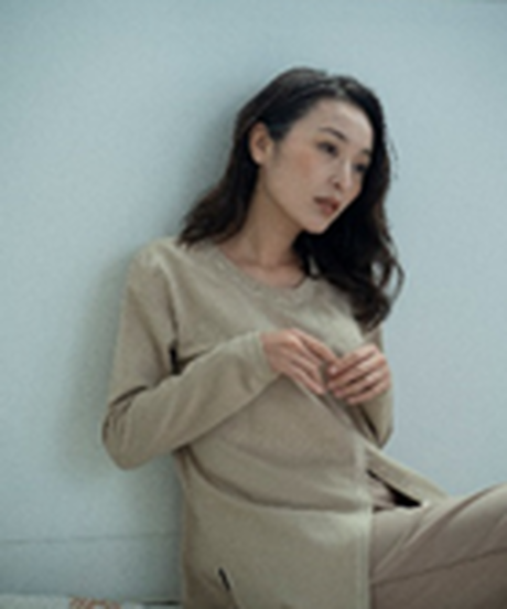 Doux.【1mileHOMEwearご予約】 2wayプルオーバー SETUP-②