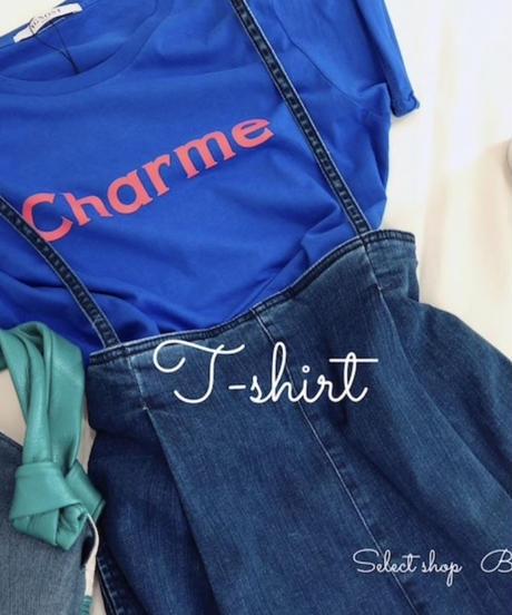 ロゴ  Charme  Tシャツ