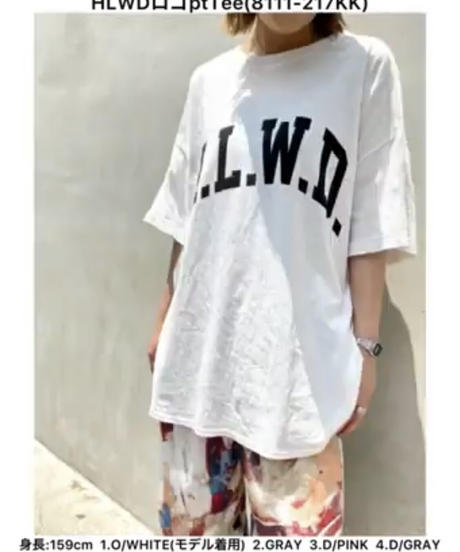 【CHIGNON晩夏初秋ご予約限定】HLWDロゴTee
