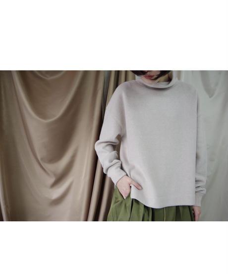 【MARGAUXご予約】フリースモックネックプルオーバー