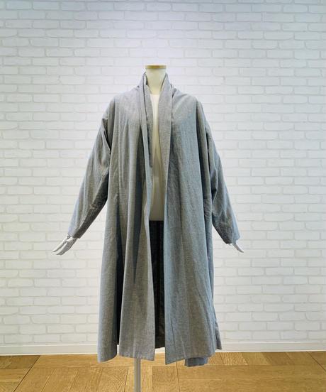 綿ツイルラップコート