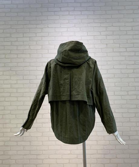 モッズ風フーデットショートジャケット