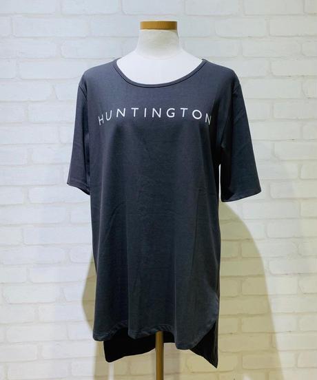 【2019初秋】後ろ下がりロゴlongTシャツ