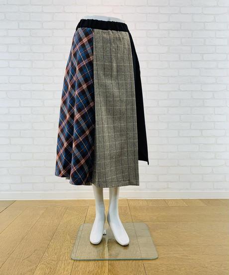 ランダムチェックドッキングスカート