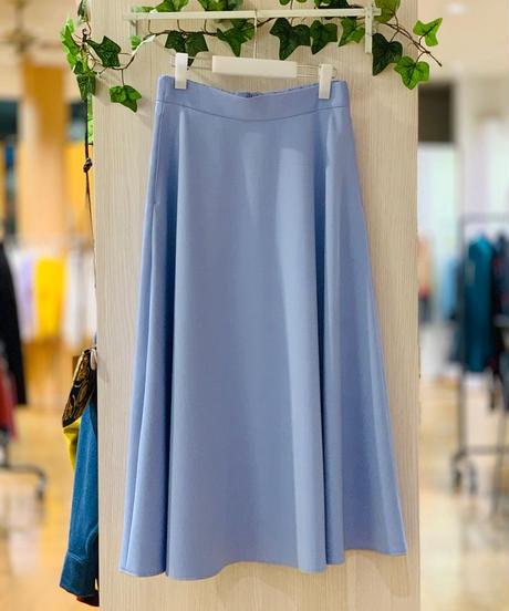 Aラインツイルロングスカート