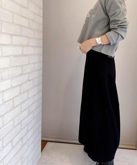 エスカルゴスウェットスカート
