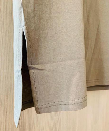 POPロゴ・フレンチ袖カットソー
