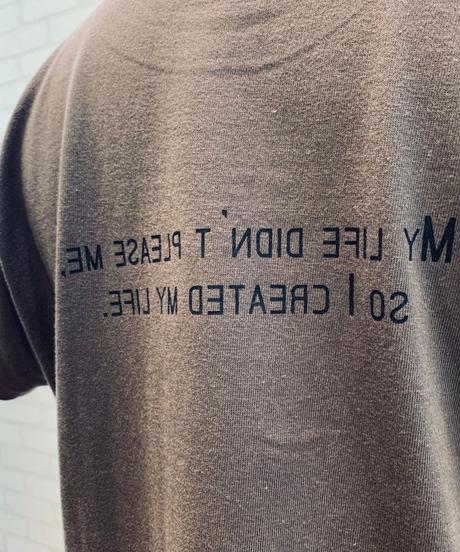 前後ロゴTシャツ