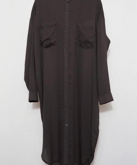 ●インスタLive● バックレースアップlongシャツ