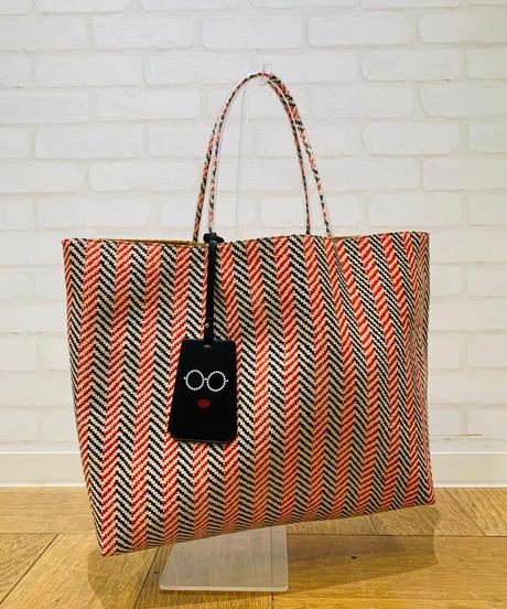 ●インスタLIVE● カラフル編みトート