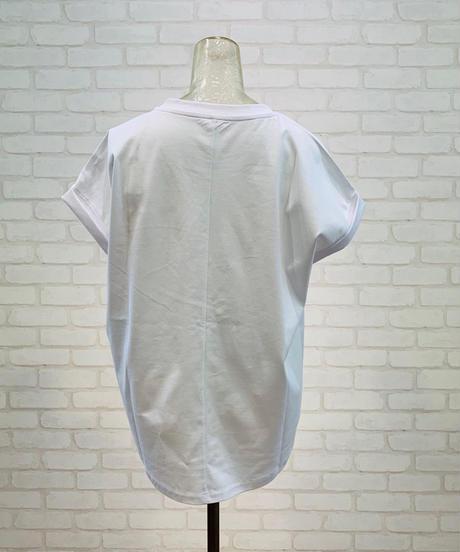 バンド・ドルマン袖  ロゴTシャツ