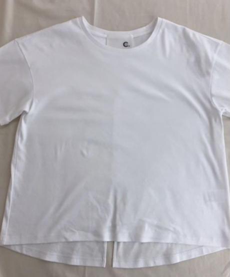 後ろスリットTシャツ